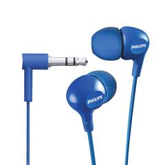 Наушники PHILIPS SHE3550BL/<wbr/>00, проводные, 1,2 м, стерео, вкладыши, голубые