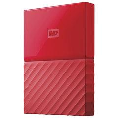 """Диск жесткий внешний WESTERN DIGITAL «My Passport», 1 Tb, 2,5"""", USB 3.0, красный"""
