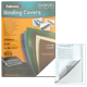 Обложки для переплета FELLOWES, комплект 100 шт., «Chromolux», А4, картонные, 250 г/<wbr/>м<sup>2</sup>, белые