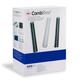 Пружины пластиковые для переплета GBC (ДжиБиСи, Англия), комплект 100 шт., 16 мм, на 126-145 л., белые