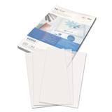 Обложки для переплета GBC (ДжиБиСи), комплект 100 шт., PVC Transparent, A4, пластиковые, 150 мкм, прозрачные