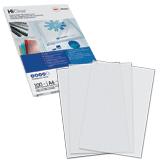 Обложки для переплета GBC (ДжиБиСи), комплект 100 шт., PVC Transparent, A4, пластиковые, 200 мкм, прозрачные