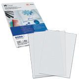 ������� ��� ��������� GBC (�������), �������� 100 ��., PVC Transparent, A4, �����������, 200 ���, ����������