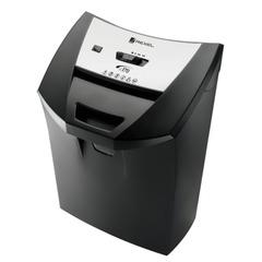 Уничтожитель (шредер) REXEL DELUXE SC170 (США), для 1 человека, 2 уровень секретности, 6 мм, 12 листов, 22 л, скобы, карты