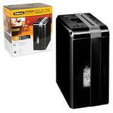 Уничтожитель (шредер) FELLOWES DS-700С, для 1 человека, 3 уровень секретности, 4×46 мм, 7 листов, 10 л, скобы, скрепки, карты