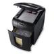 Уничтожитель (шредер) REXEL AUTO+100, для 1-3 чел., автоподача, 3 ур-нь секрет., фрагм. 4×50мм, 100 лист, 26л, карты, скреп, скобы