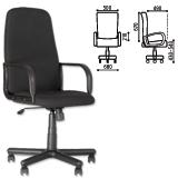 Кресло офисное «Diplomat», черное