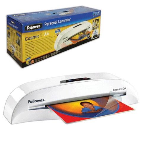 Ламинатор FELLOWES COSMIC 2, формат A4, толщина пленки (1 сторона) 75-100 мкм, скорость — 30 см/<wbr/>минуту