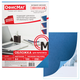 Обложки для переплета ОФИСМАГ, комплект 100 шт., тиснение под кожу, А4, картон 230 г/<wbr/>м<sup>2</sup>, синие