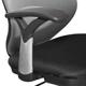 Кресло оператора BRABIX «Saturn ER-400», с подголовникоми, комбинированное черное/<wbr/>серое
