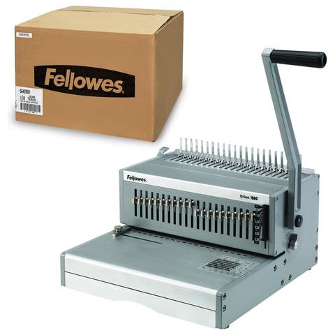 Переплетная машина для пластиковой пружины FELLOWES ORION, пробивает 30 листов, сшивает 500 листов