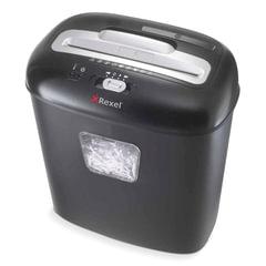 Уничтожитель (шредер) REXEL DUO (США), для 1-2 человек, 3 уровень секретности, 4×45 мм, 10 листов, 17 л, скобы, скрепки, карты, CD