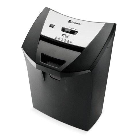 Уничтожитель (шредер) REXEL DELUXE CC175 (США), для 1-2 человек, 3 уровень секретности, 4x45 мм, 8 листов, 22 л, скобы, карты