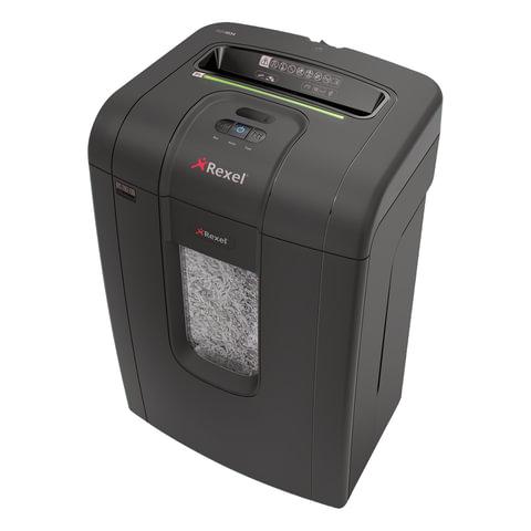 Уничтожитель (шредер) REXEL RSX1834, для 1-3 человек, 4 уровень секретности, фрагмент 4×40 мм, 18 лист., 34 л, скобы, скрепки