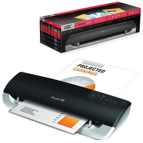 Ламинатор GBC FUSION 3100L, формат A3, толщина пленки (1 сторона) 75-175 мкм, скорость — 80 см/<wbr/>минуту