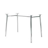 Рама стола для столовых, кафе, дома «Tiramisu Duo» (1200×800 мм), хром