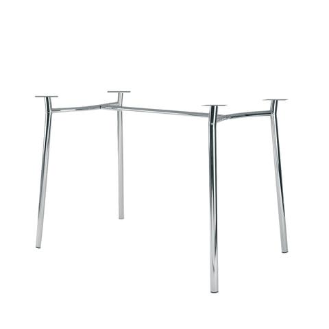 """Рама стола для столовых, кафе, дома """"Tiramisu Duo"""" (1200х800 мм), хром"""