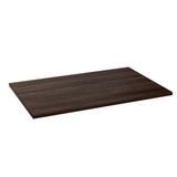 Столешница к столу для столовых, кафе, дома (1200×800 мм), ЛДСП, венге