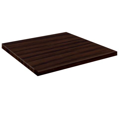 Столешница к столу для столовых, кафе, дома (800х800 мм), ЛДСП, венге