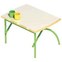 Стол детский «Бамбуча», 600×450×460-580 мм, регулируемый, рост 1-3 (100-145 см), фанера/<wbr/>металл, зеленый