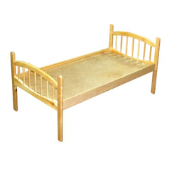 Кровать детская «Ангелина», 1400×600×600 мм, фанера/<wbr/>дерево, настил ДВП