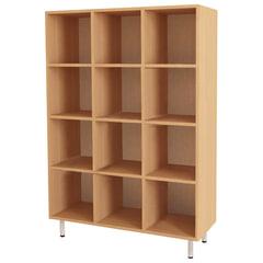 Шкаф для горшков, 12 отделений, 900×330×1200 мм, ЛДСП, бук бавария