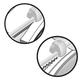 Резак BRAUBERG (БРАУБЕРГ) роликовый R5, А4, 5 л., «4 в 1»(4 стиля резки), длина реза 305 мм, раскладная линейка