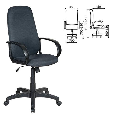 Кресло офисное CH-808AXSN, серое