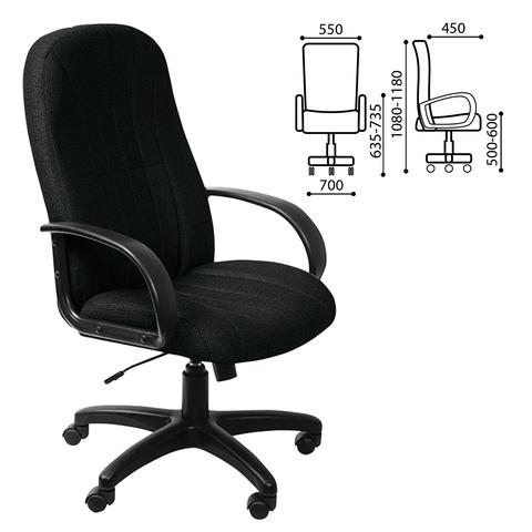 Кресло офисное T-898AXSN, черное