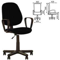 Кресло оператора «Forex GTP» с подлокотниками, черное