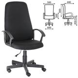 Кресло офисное «Элемент», СН 289, с подлокотниками, черное