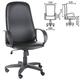 Кресло офисное «Фаворит», СН 279, высокая спинка, с подлокотниками, кожзаменитель, черное