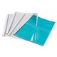 Обложки для термопереплета FELLOWES, комплект 100 шт., А4, 8 мм, 61-80 л., верх — прозрачный Pvc, низ — картон