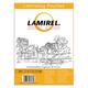 Пленки-заготовки для ламинирования LAMIREL, комплект 100 шт., формат А4, 125 мкм