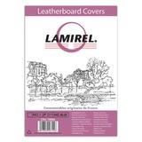 Обложки для переплета LAMIREL, комплект 100 шт., Delta (тиснение под кожу), А4, картонные 230 г/<wbr/>м<sup>2</sup>, синие