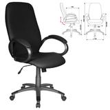Кресло офисное T-700DG/<wbr/>OR-16, кожзам, черное