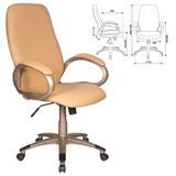 Кресло офисное T-700Y/<wbr/>OR-13, кожзам, бежевое