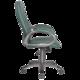 Кресло офисное T-700DG/<wbr/>OR-01, кожзам, зеленое