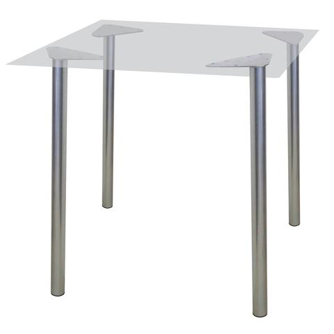 """Рама стола для столовых, кафе, дома """"Альфа"""", универсальная, цвет серебристый"""