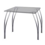 Рама стола для столовых, кафе, дома «Бета», универсальная, цвет серебристый