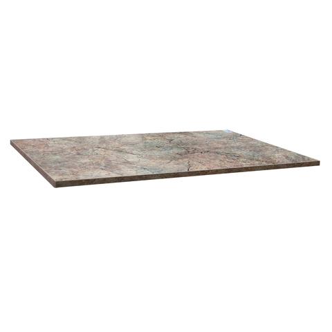 Столешница к столу для столовых 1200×800 мм, Corund 2507, ОСОБО ПРОЧНЫЙ ПЛАСТИК, опера милан