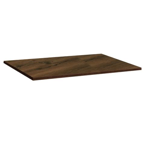 Столешница к столу для столовых 1200х800 мм, Corund 1010, ОСОБО ПРОЧНЫЙ ПЛАСТИК, орех монпелье