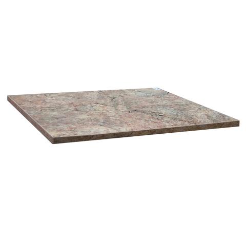 Столешница к столу для столовых 800×800 мм, Corund 2507, ОСОБО ПРОЧНЫЙ ПЛАСТИК, опера милан