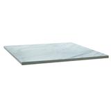Столешница к столу для столовых 800×800 мм, Corund 2504, ОСОБО ПРОЧНЫЙ ПЛАСТИК, мрамор каррара