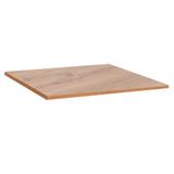 Столешница к столу для столовых 800×800 мм, Corund 1023, ОСОБО ПРОЧНЫЙ ПЛАСТИК, дуб горный