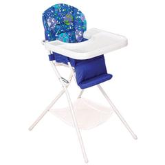 Кресло детское для кормления ДЭМИ КДС.03, съемный столик, цвет синий/<wbr/>белый