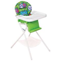 Кресло детское для кормления ДЭМИ КДС.03, съемный столик, цвет салатовый/<wbr/>белый