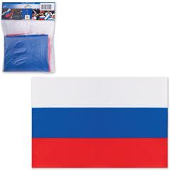 Флаг РФ, 90×135 см, упаковка с европодвесом