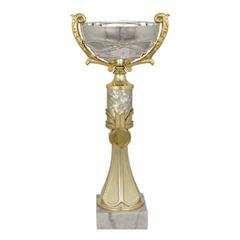 Кубок металлический «Тадеус» (140×120×320 мм), основание мрамор, «золото»