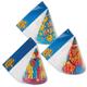 Праздничный колпак «ПОЗДРАВЛЯЕМ», набор 8 штук, в упаковке с европодвесом